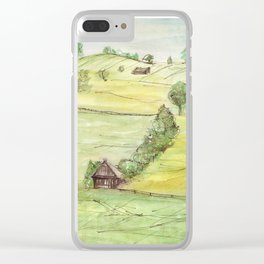 Rural life Clear iPhone Case