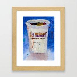 Dunkin' Donuts Framed Art Print