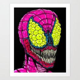 Spider Eyes Art Print