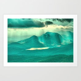 Rays of Hope Art Print