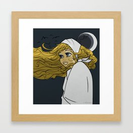 Moon Moon Framed Art Print