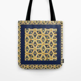 Tile Floor Tote Bag