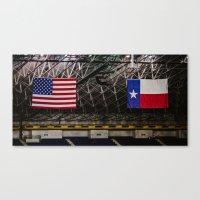texas Canvas Prints featuring Texas by Chee Sim