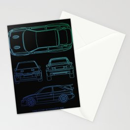 Escort RS Cosworth Stationery Cards