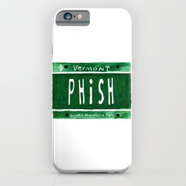 Phish license plate iPhone Case