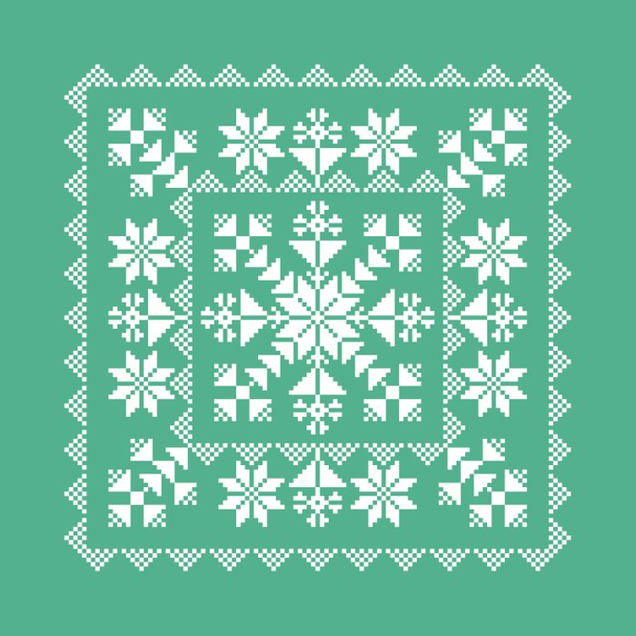 Nordic Folk Comforters