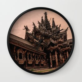 The Sanctuary of Truth Wall Clock