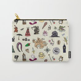 Peter Pan pattern Carry-All Pouch