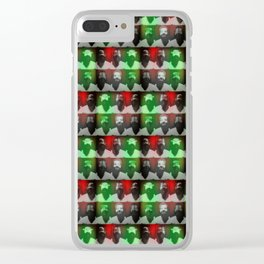 locura del artista Clear iPhone Case