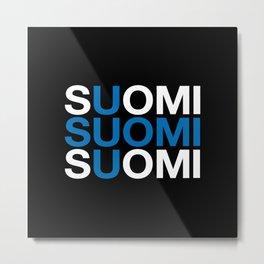 FINLAND Metal Print