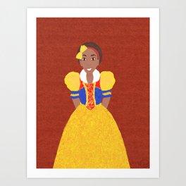 Princess Snow Art Print