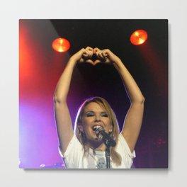 'Love' - Kylie Anti Tour 2012 Metal Print