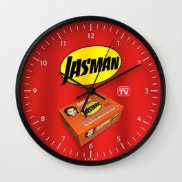 Jasman Superhero Suit Box - TV Wall Clock