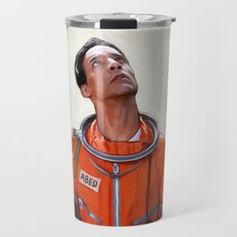 Abed The Astronaut - Six Seasons And A Movie - Community Travel Mug
