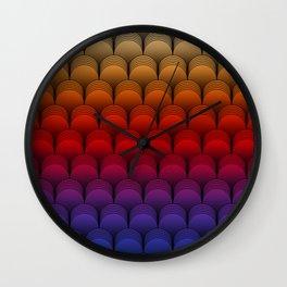 The Barrel (Multi-colored) Wall Clock