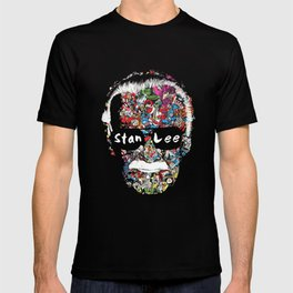 Stan Lee - Man of many faces T-shirt