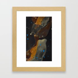 joelarmstrong_rust&gold_046 Framed Art Print