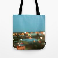 nashville Tote Bags featuring Nashville #1 by Alicia Bock