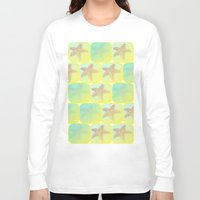 starfish Long Sleeve T-shirts featuring Starfish by Gaspar Avila