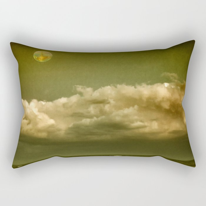 Alien Shore Rectangular Pillow