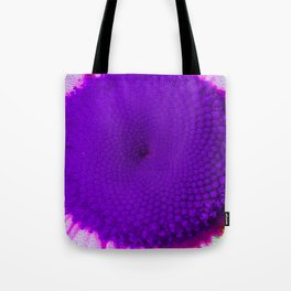Purple Vineyard Daisy Tote Bag