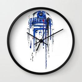 A blue hope 2 Wall Clock
