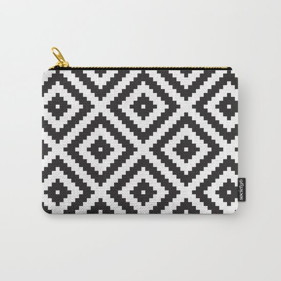 IKEA LAPPLJUNG RUTA Rug Pattern Carry-All Pouch