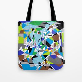 My World is Shattered Tote Bag