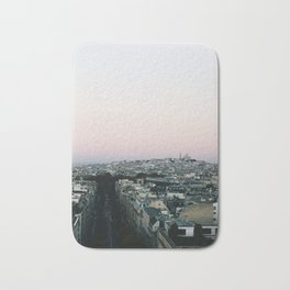 View of Sacré-Cœur from the Arc de Triomphe Bath Mat