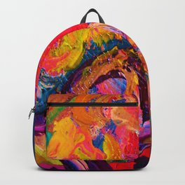 Color and Texture Backpack
