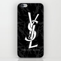 ysl iPhone & iPod Skins featuring Young | Savvy | & Lavish | YS&L Invert by NASHGFX