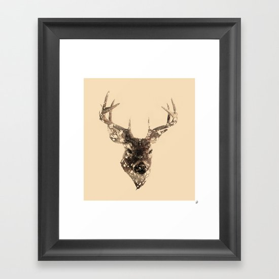 Cervus (Classic Version) Framed Art Print