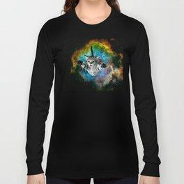 Galaxy Cat Universe Kitten Launch                                                 Long Sleeve T-shirt