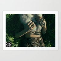 "furry Art Prints featuring ""FURRY"" by Sri (MFKN) Sherrell"