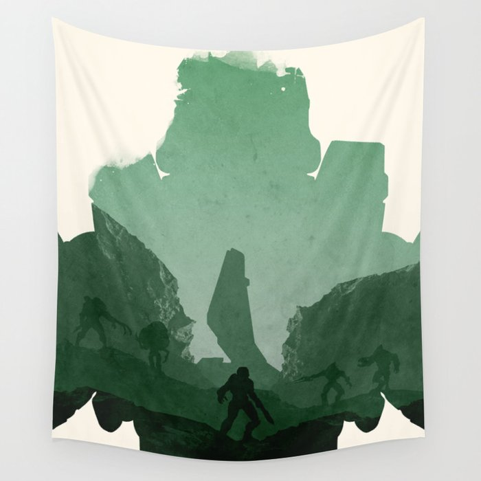 Halo 3 Wall Tapestry by ryanswannick   Society6