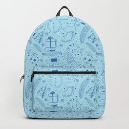 Doodle Christmas pattern Backpack