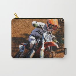 Racing The Dream Carry-All Pouch