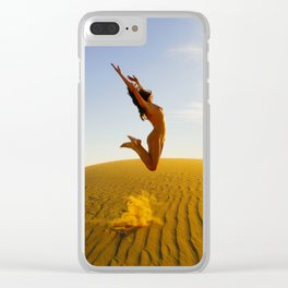 0799 Sandy Dune Nude | The Jump Clear iPhone Case