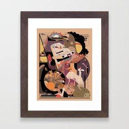 The IDONTKNOW Framed Art Print