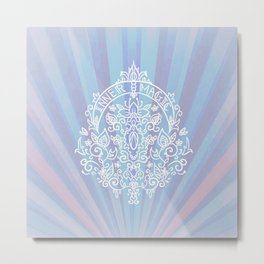 INNER MAGIC Metal Print
