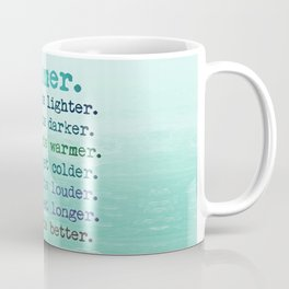 SUMMER by Monika Strigel Coffee Mug