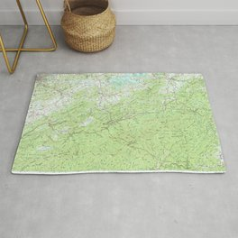 TN Knoxville 148001 1983 topographic map Rug