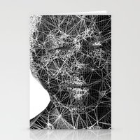 mandela Stationery Cards featuring Mandela by PandaGunda