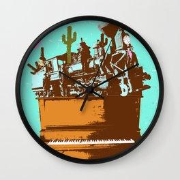 WESTERN PIANO Wall Clock