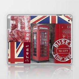 Great Britain London Union Jack England Laptop & iPad Skin