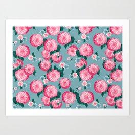 Spring Floral Dream #3 #decor #art #society6 Art Print