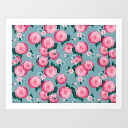 Spring Floral Dream #3 #decor #art #society6 Art Print