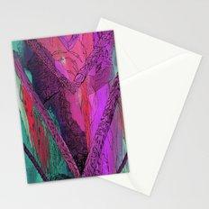 Purple Chevron Trippyness Stationery Cards