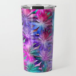 Colored leaves Travel Mug