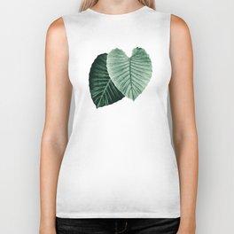 Love Leaves Evergreen - Him & Her #2 #decor #art #society6 Biker Tank
